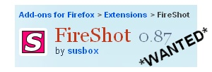 fireshot ) I Want IT!