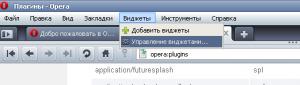 opera_widgets, информеры в опера