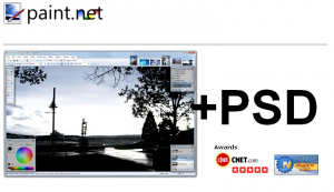 paint.net умеет открывать psd формат!